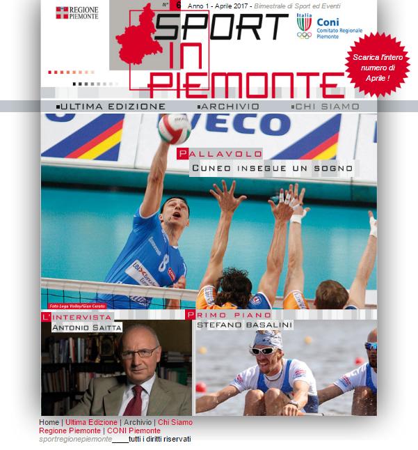 Sito web per Sport in Piemonte